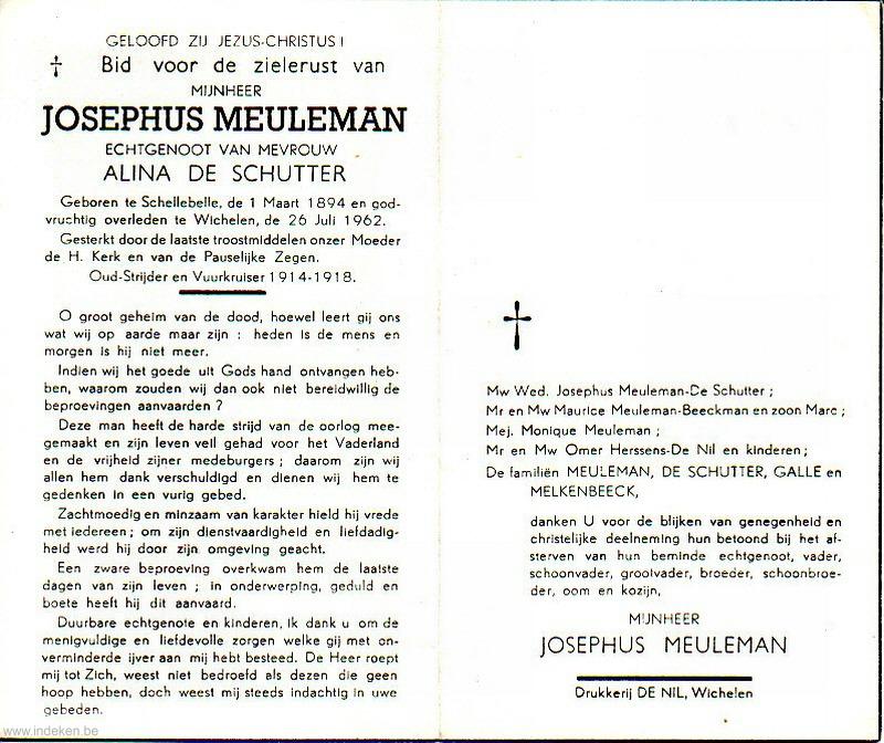 Josephus Meuleman