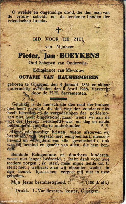 Pieter Jan Boeykens