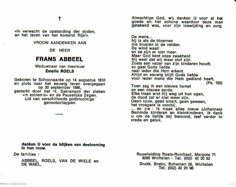 Frans Abbeel