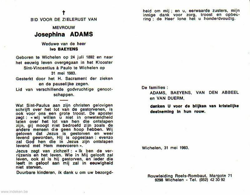 Josephina Adams