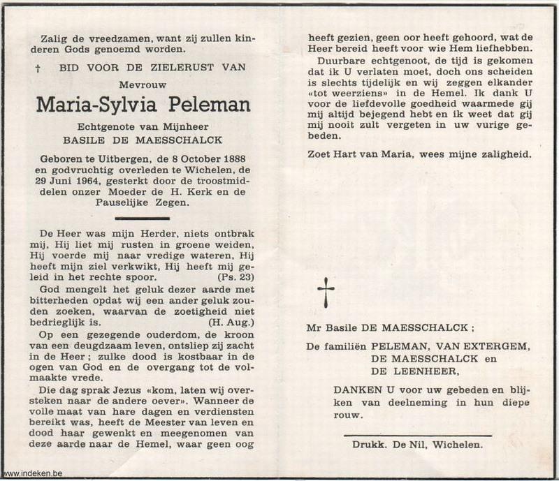 Maria Sylvia Peleman