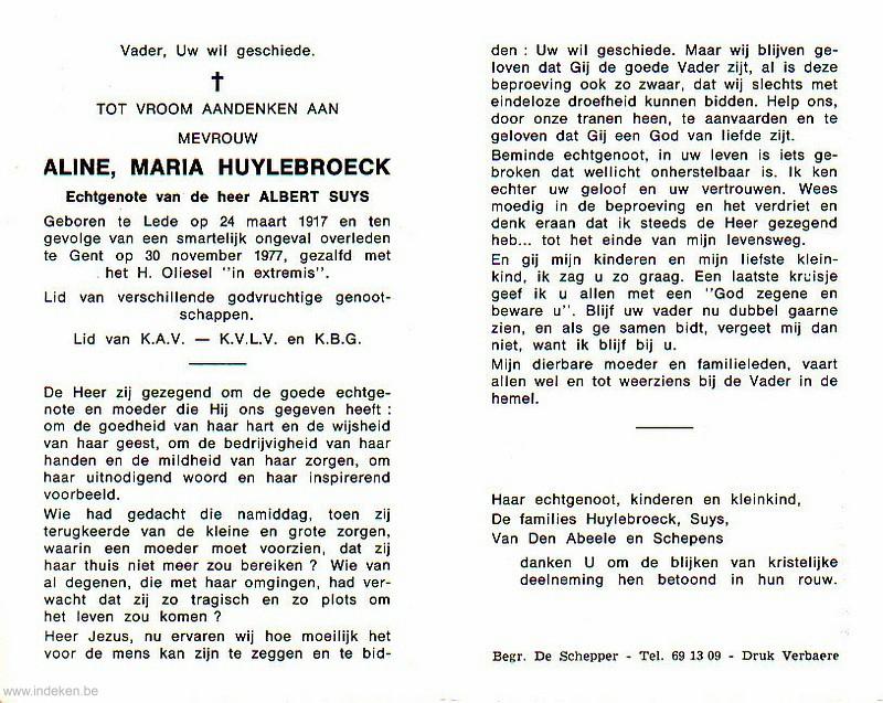 Aline Maria Huylebroeck