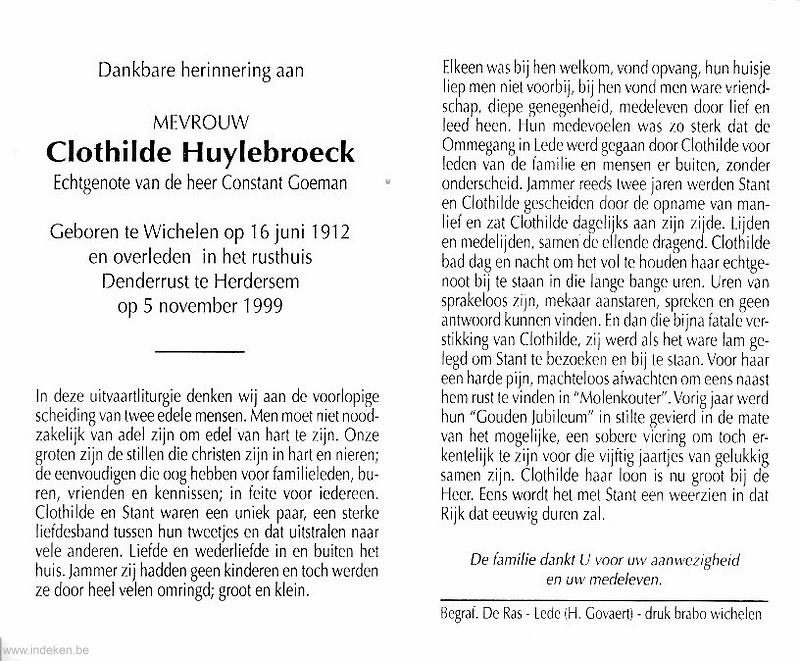 Clothilde Huylebroeck