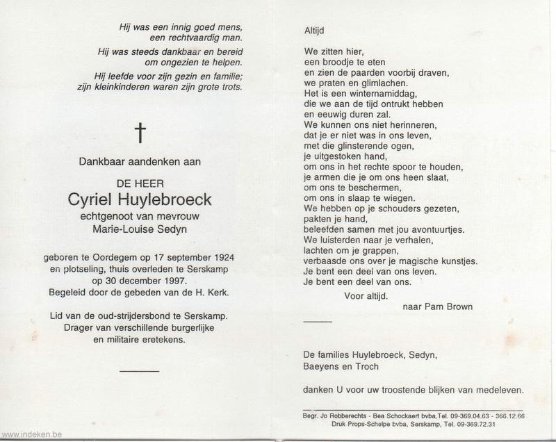 Cyriel Huylebroeck