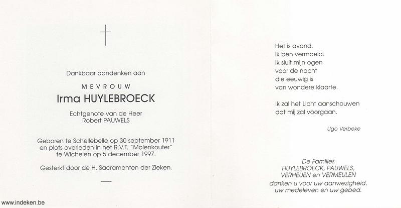 Irma Huylebroeck