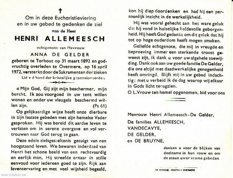 Henri Allemeesch