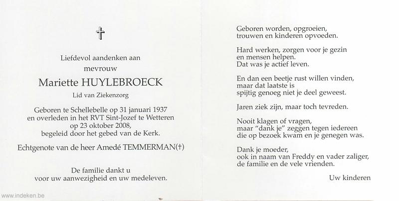Mariette Huylebroeck