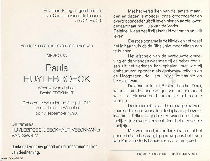 Paula Huylebroeck