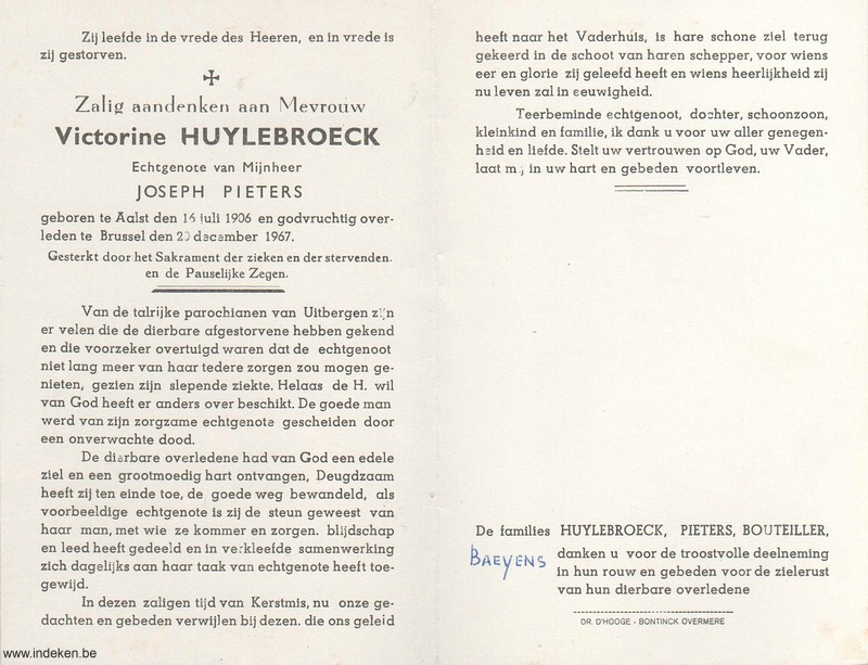 Victorine Huylebroeck