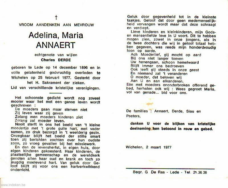 Adelina Maria Annaert