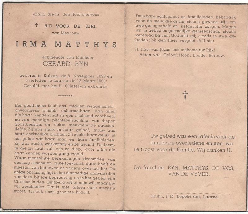 Irma Matthys