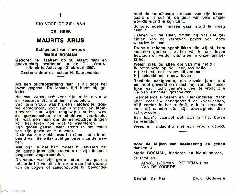 Maurits Arijs