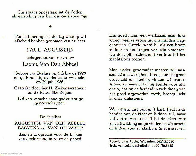 Paul Augustijn