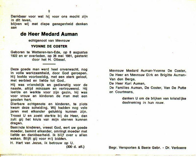 Medard Auman